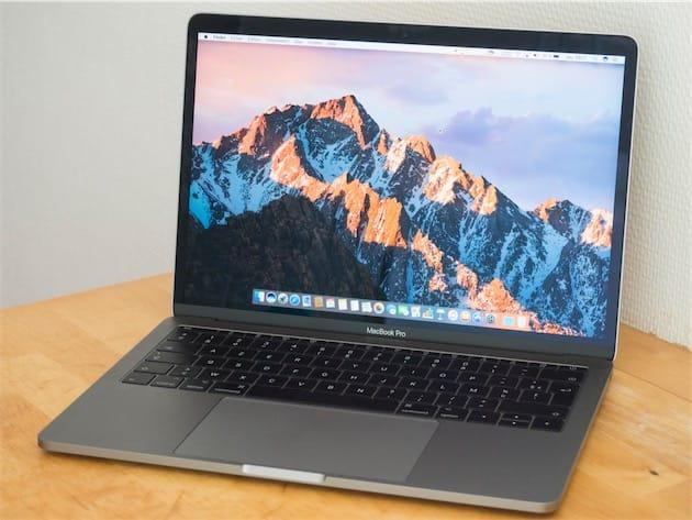 Test du MacBook Pro 13
