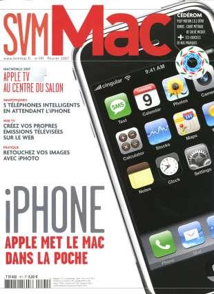 La une du SVM Mac de février 2007.