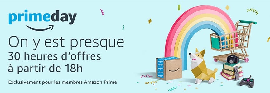 prime day amazon lance ses soldes 18 heures macgeneration. Black Bedroom Furniture Sets. Home Design Ideas
