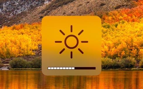 Cet utilitaire modifie la luminosité de tous les écrans au clavier