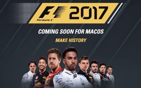 F1 2017 sortira le 25 août sur Mac, PC et consoles