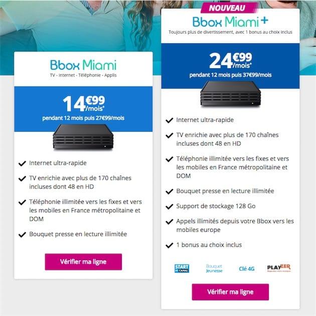 Bbox miami plus de services pour 40 99 mois macgeneration - Canalplay com multiecrans ...