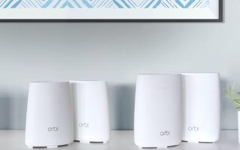 Wi-Fi maillé: les Netgear Orbi moins chers et avec une app à jour