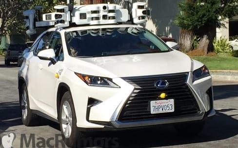 Apple a mis à jour ses voitures autonomes