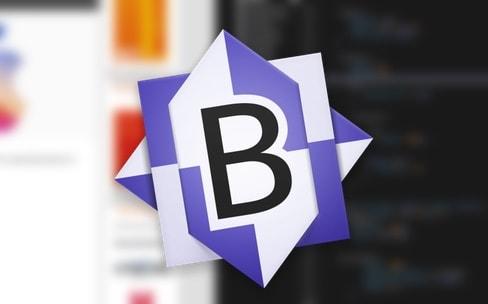 Éditeur de code: BBEdit12 partage son mode plein écran