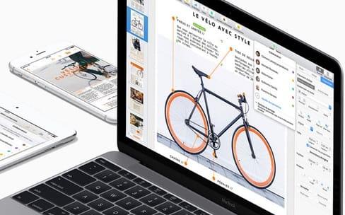 Petites mises à jour pour Pages, Keynote et Numbers sur macOS