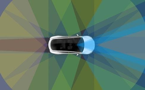 Tesla développerait ses propres puces pour la conduite autonome