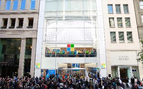 Microsoft annonce sa première boutique en Europe