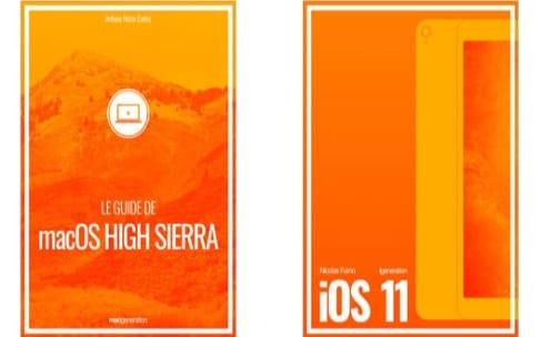 Nos guides sur iOS 11 et macOS High Sierra en tête des ventes ! Merci !