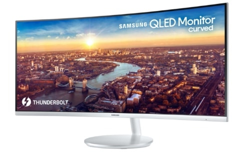 Samsung dévoile le premier écran Thunderbolt 3 incurvé