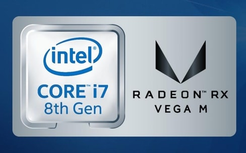 L'improbable partenariat Intel-AMD se concrétise avec les Core i5/i7 Radeon RX Vega M