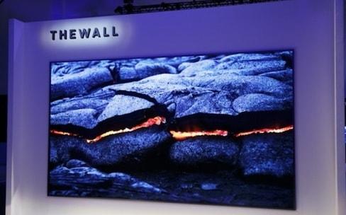 """Les écrans dingues du CES 2018: LG enroulable, Samsung modulaire, Nvidia 65"""" 120 Hz"""