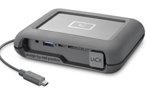 Seagate-LaCie: disque dur pour drone DJI, Rugged chiffré et partenariat avec Adobe