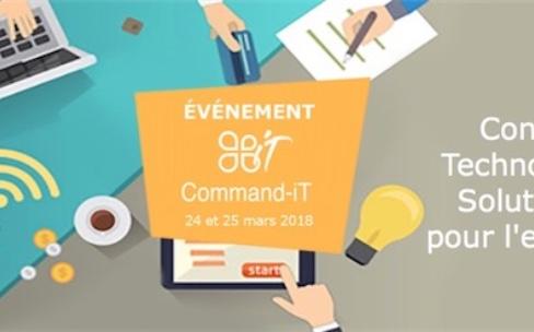 Command-iT: des conférences à Poitiers pour le Mac et l'iPhone en entreprises
