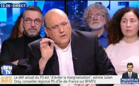 Julien Dray propose que les GAFA donnent 50000€ à tous les Français de 18 ans