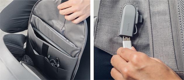 afec893186 De même forme mais plus petit, le sac à dos porté travers (124,95 €) est  adapté à une taille allant aussi jusqu'à l'iPad Pro 10,5