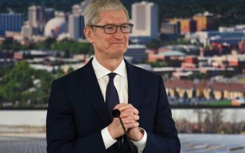 Tim Cook a visité le centre de données d'Apple à Reno