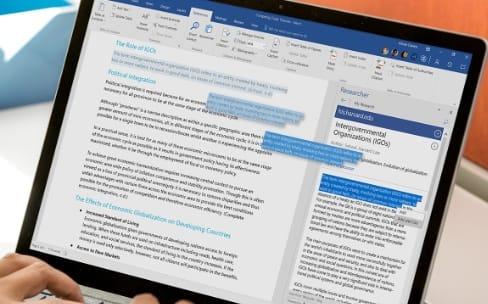 Office 2016 est plus collaboratif