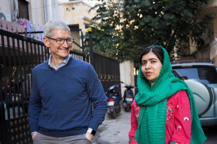 Apple soutient le Fonds Malala qui œuvre pour l'éducation des filles