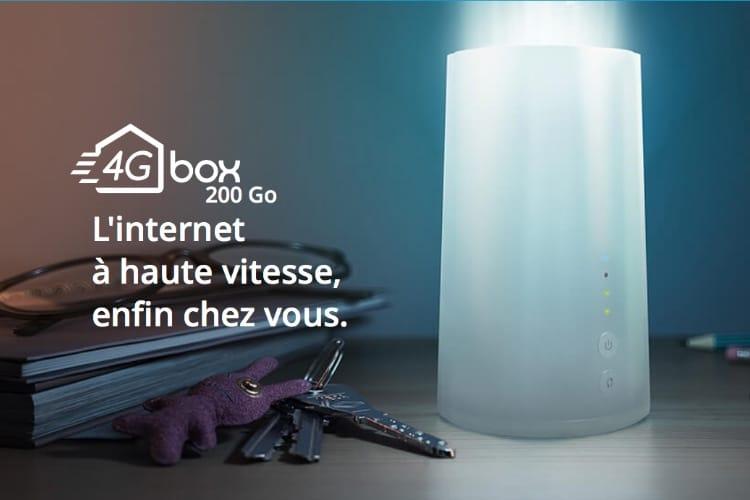 La 4G Box de Bouygues est officiellement limitée à 200Go