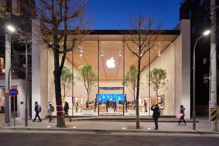 Apple dévoile son premier Apple Store en Coréedu Sud
