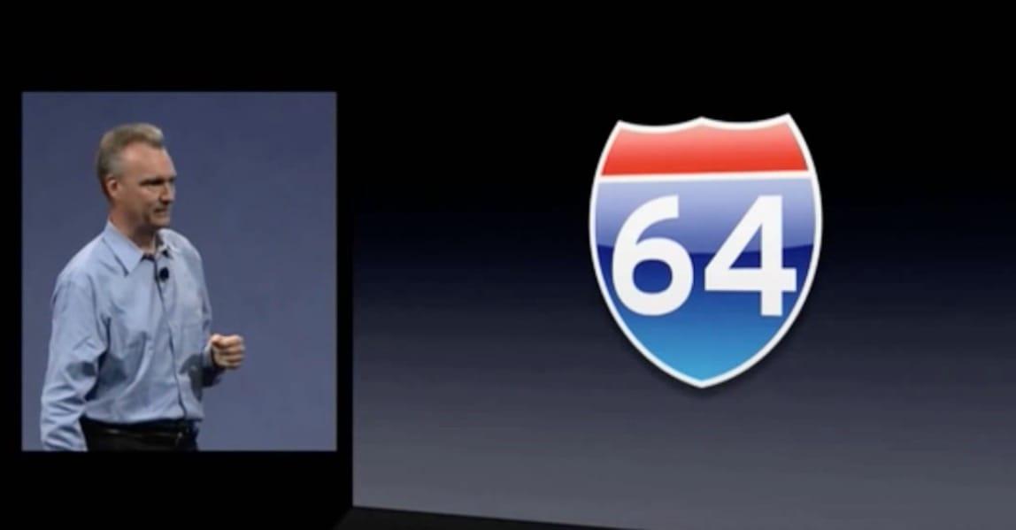 Scott Forstall présente Mac OS X Snow Leopard, première version de macOS entièrement 64 bits.