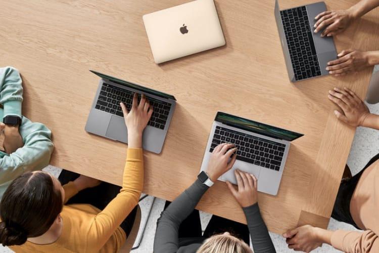Moins de ventes pour le Mac mais beaucoup de nouveaux clients