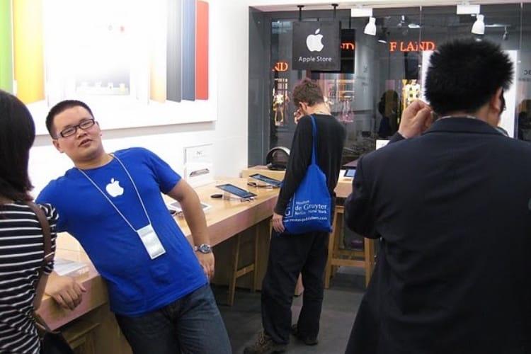 Pékin vise les clones d'Apple Store