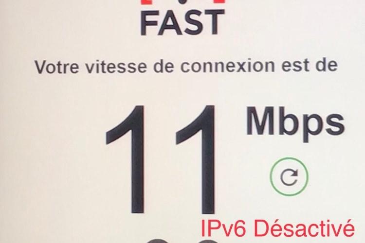 Couper l'IPv6 peut améliorer les débits de Netflix chez Free