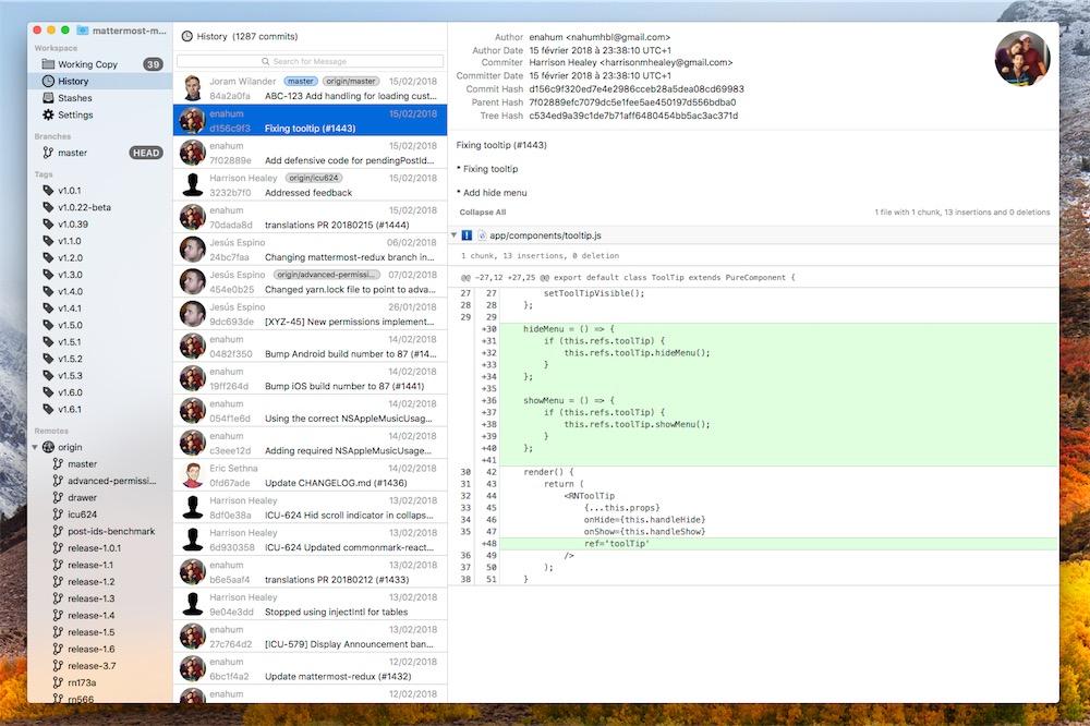 GitFinder intègre un client Git complet dans le Finder | MacGeneration