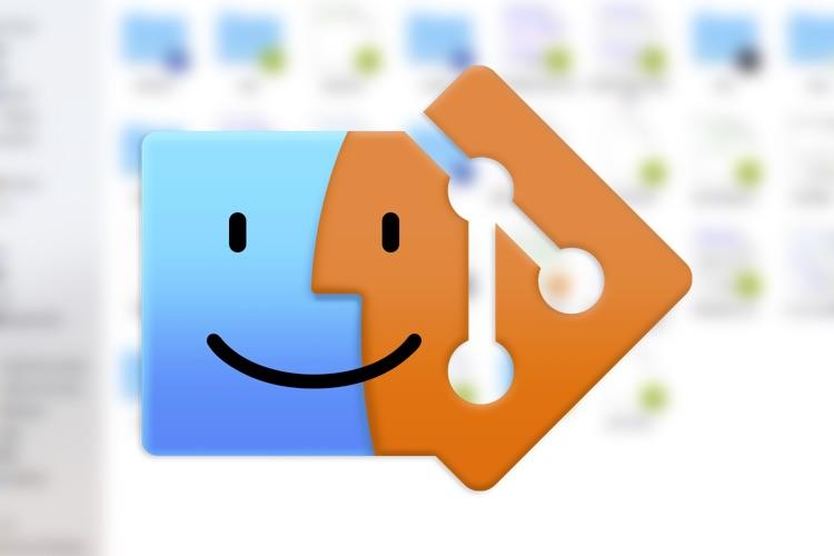 GitFinder intègre un client Git complet dans le Finder