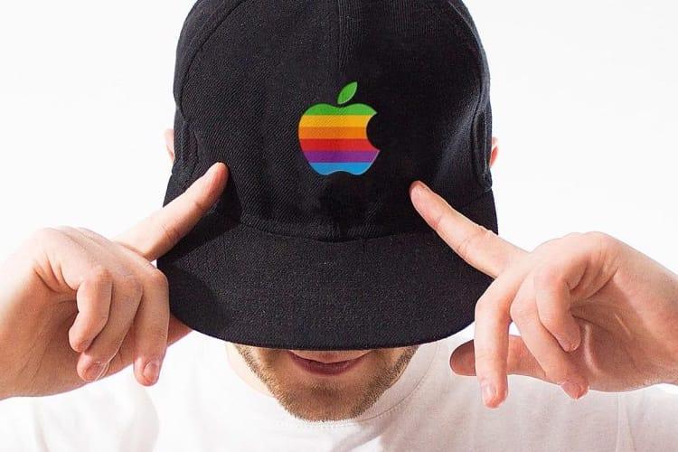 Apple protège son logo multicolore pour… des casquettes