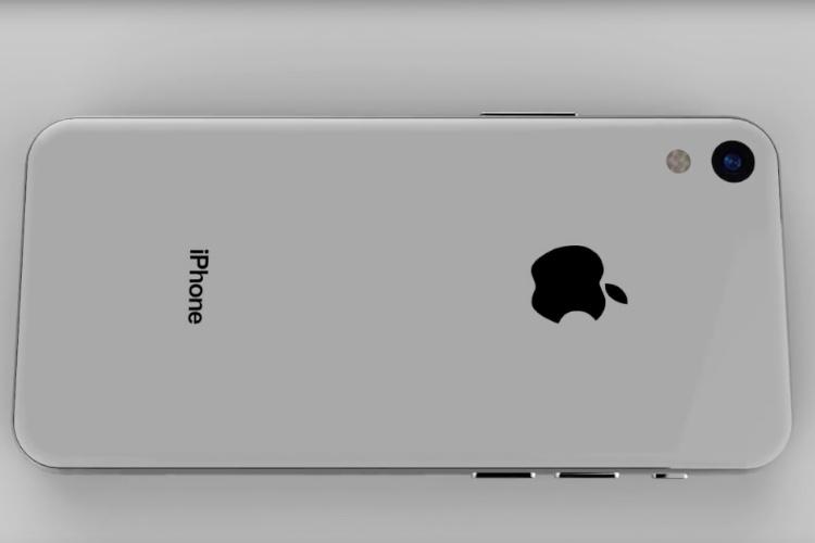 Un concept d'iPhoneSE 2 mâtiné d'iPhoneX