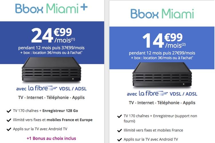 Bouygues vend ses Bbox à ceux qui ne veulent pas les louer