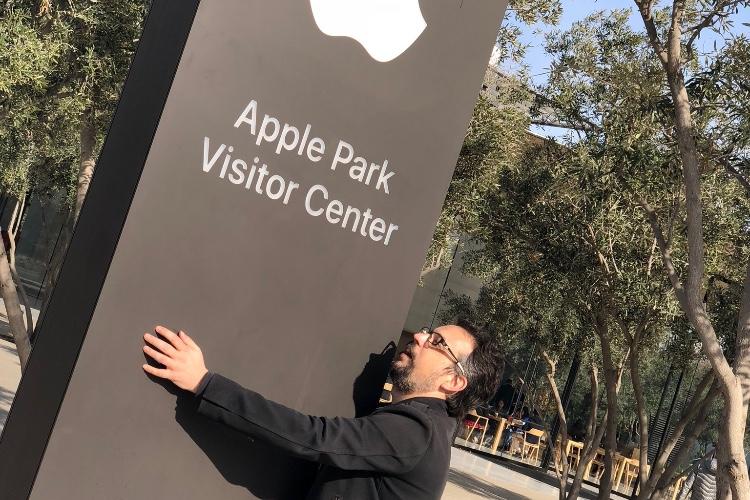Le centre visiteurs de l'Apple Park est un modèle d'accessibilité