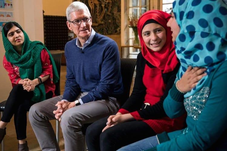 Plusieurs initiatives d'Apple pour la Journée internationale des droits des femmes
