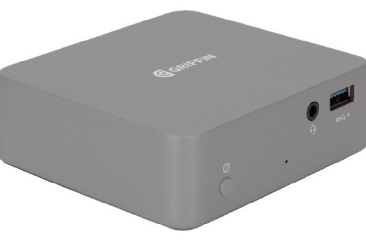 """Un dockUSB-C taillé pour le MacBookPro 15"""" chezGriffin"""
