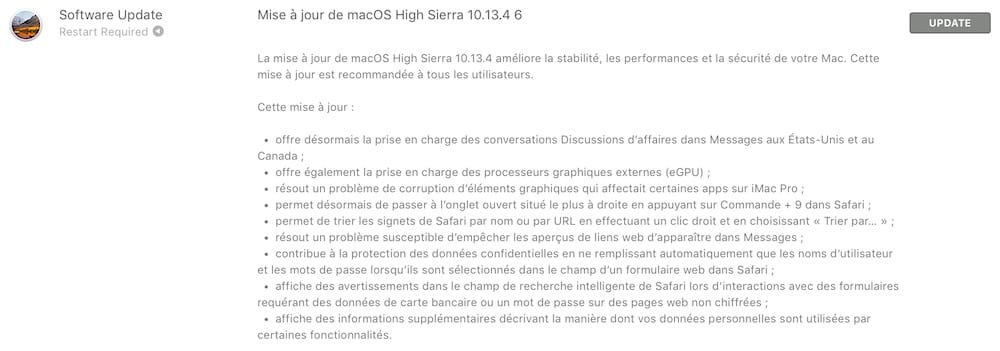 macos 10 13 4 update