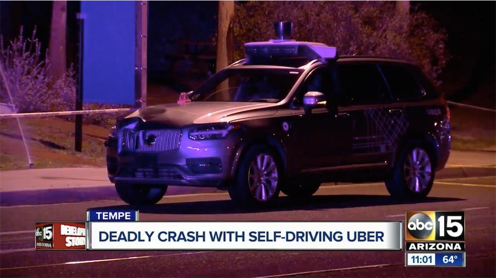 uber suspend ses voitures autonomes apr s un accident mortel macgeneration. Black Bedroom Furniture Sets. Home Design Ideas