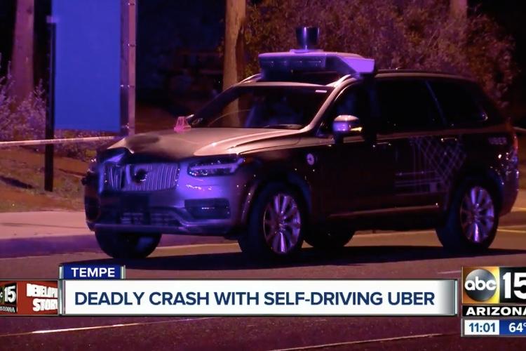 Uber suspend ses voitures autonomes après un accident mortel