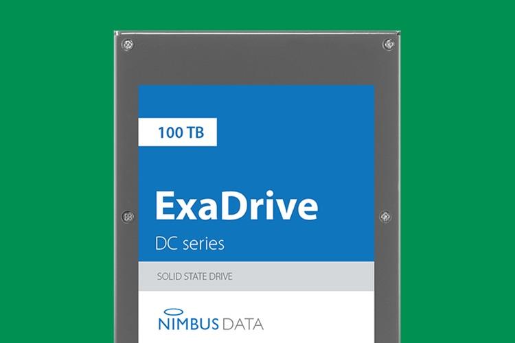 Nouveau record: 100To dans un seul SSD