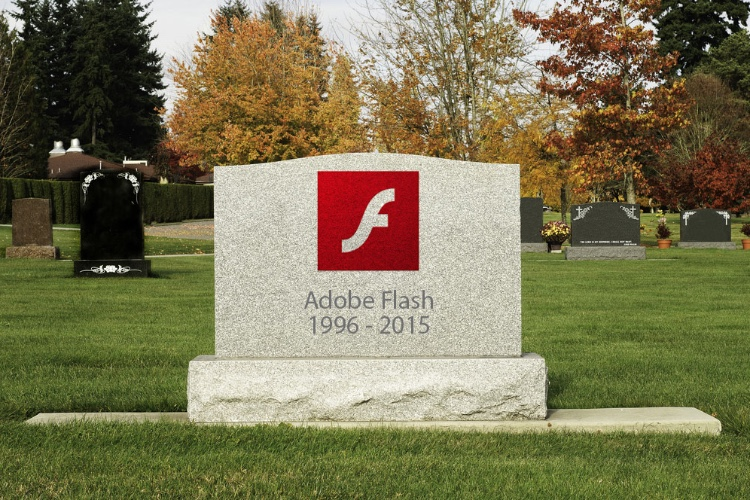 Safari se prépare à la fin de Flash