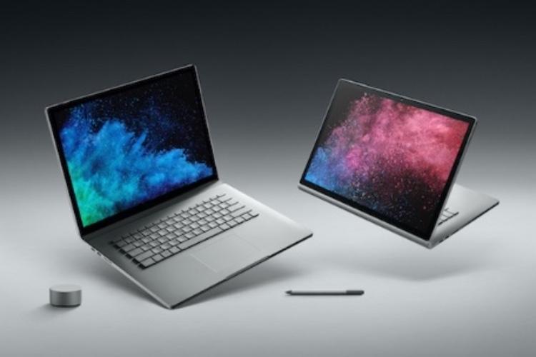 Comme le MacBookPro, le SurfaceBook2 réduit son SSDà128Go
