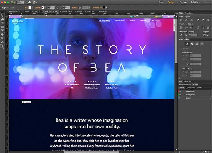 Adobe Abandonne Muse Son App De Creation De Sites Web Sans Code Macgeneration