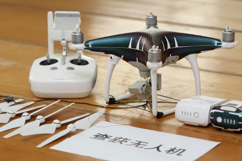Des contrebandiers chinois ont utilisé des drones pour importer des iPhone