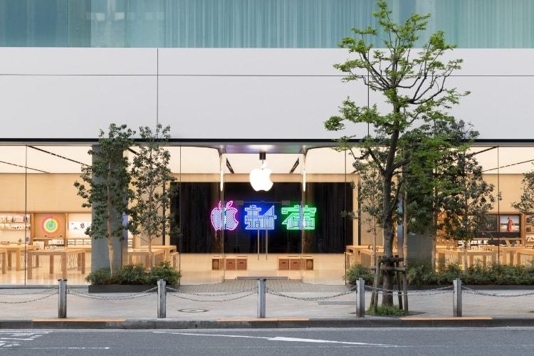 Le nouvel Apple Store de Shinjuku dévoilé avant son ouverture le 7 avril