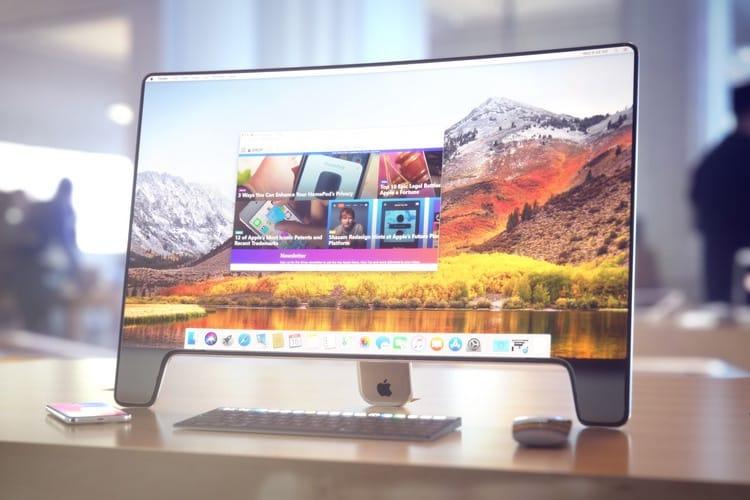 Le futur écran d'Apple est toujours en développement