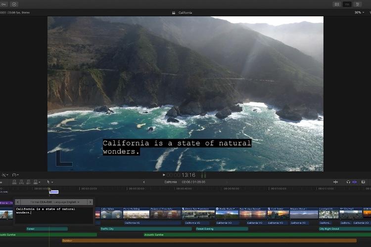 Final Cut ProX 10.4.1 est disponible, avec le ProResRAW et les outils de sous-titrage