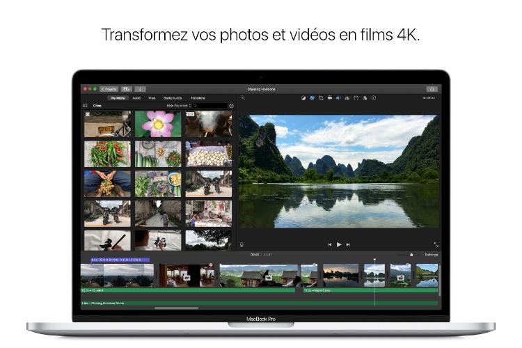 iMovie corrige ses bugs sur macOS High Sierra