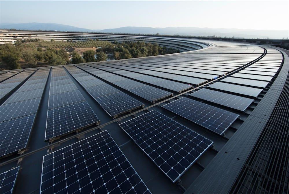 Apple est 100% converti aux énergies renouvelables